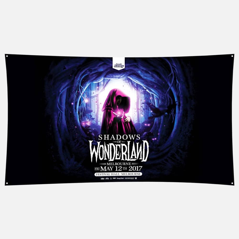 Flag Shadows of Wonderland